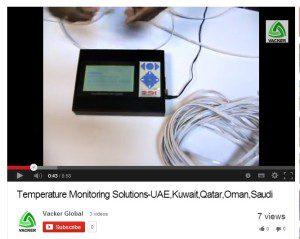 Temperature humidity monitor record
