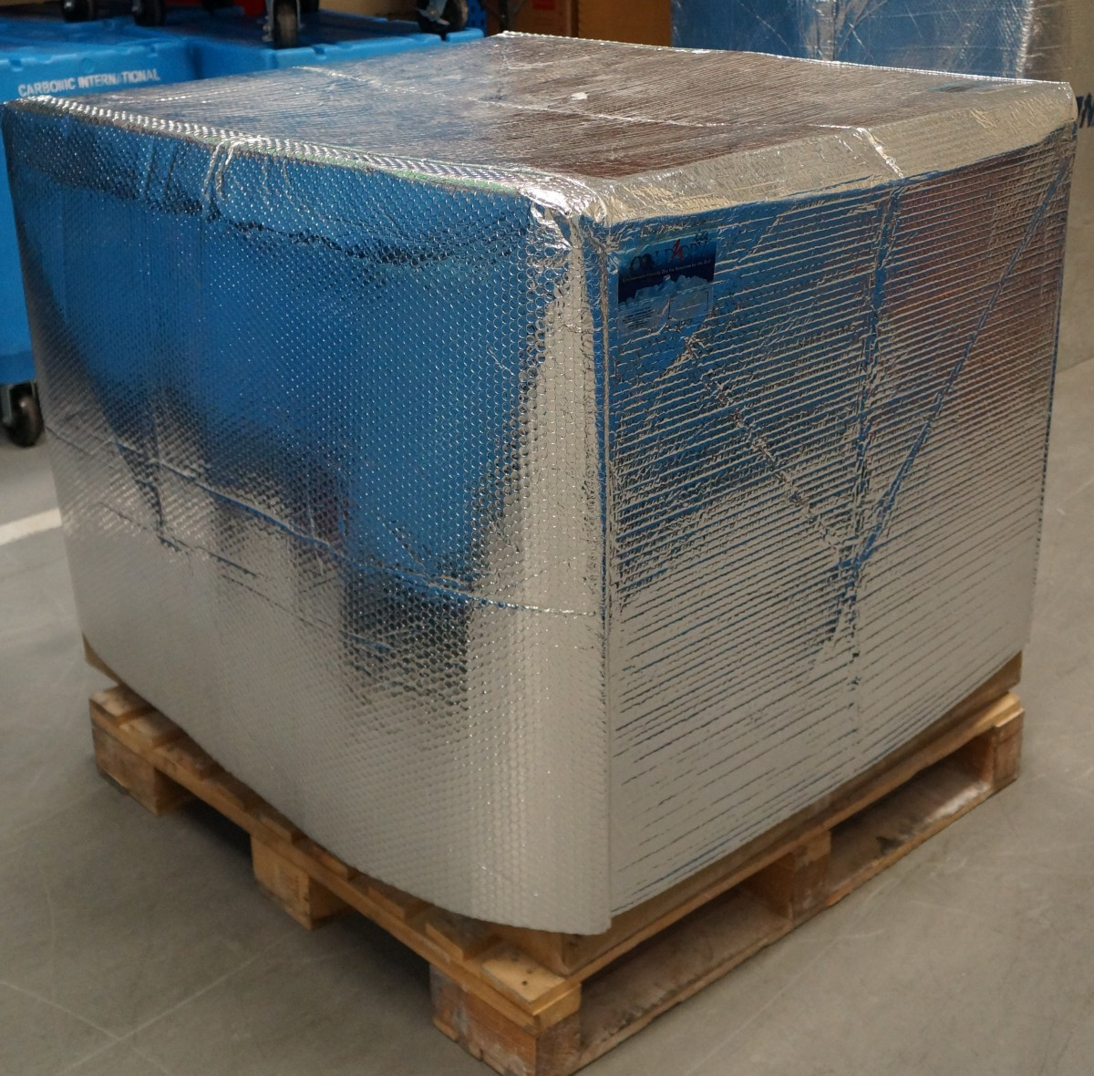 Temperature Insulated Cover Thermal Pallet Cover For