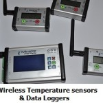 wireless temperature sensor and datalogger