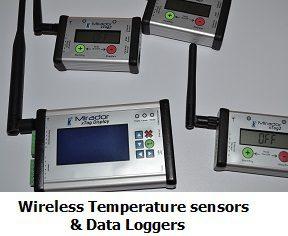 wireless temperature sensor and datalogger