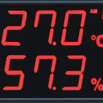 LED-temperature-humidity-display-panel