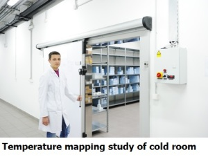 temperature mapping, qualification of medicine cold room