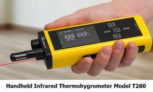 handheld-Infrared-Thermohygrometer-model-T260