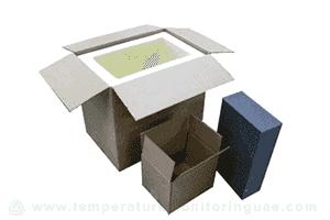 Temperature qualification of medicine box